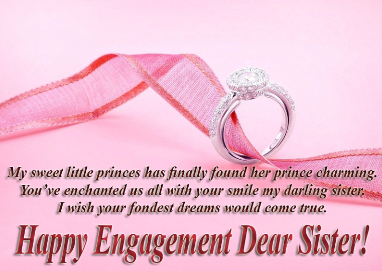 Engagement Wishes For Sister Congratulation Messages Best Quotes