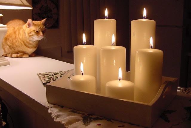 Thomas w candles