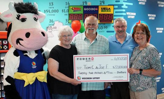 Foto: Wisconsin Lottery/Divulgação