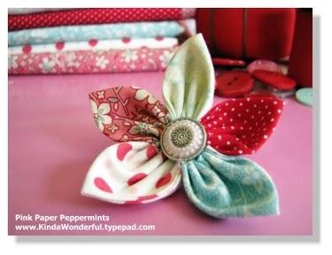 Jen crea creazioni di tutto e un p fiori di stoffa - Petali finti ikea ...