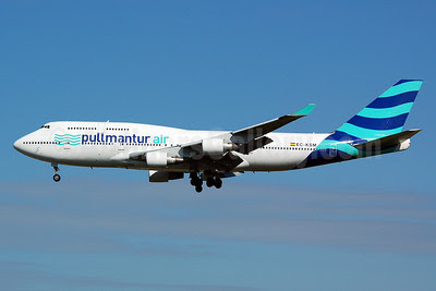 Pullmantur Air Boeing 747-412 EC-KSM (msn 27178) MAN (Nik French). Image: 911950.