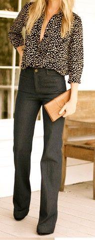 Loving the trouser look.