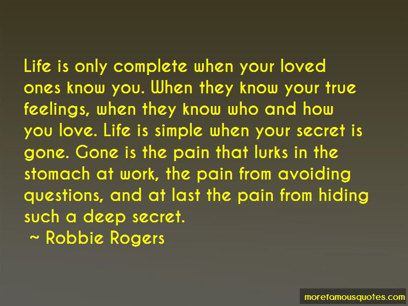Quotes About Hiding Your Feelings About Love Top 1 Hiding Your