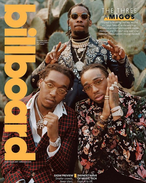 1dc54b6d917 Migos Cover Billboard - (News)