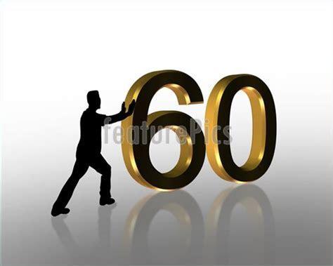 Illustration Of 60Th Birthday Invitation Graphic
