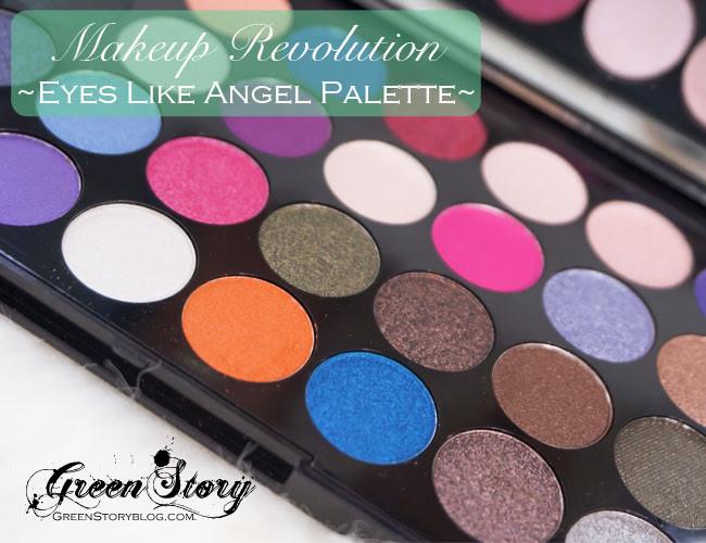 Makeup Revolution Eyes Like Angel 32 Shadow Palette ...