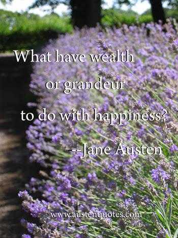 Wealth Jane Austen Quotes