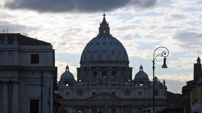 Image result for st peter's square winter