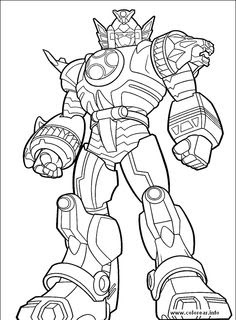 power rangers megazord coloring pages at getcolorings