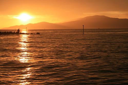 July 25 sunset