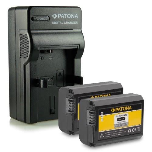 chargeurs de batteries m l mobiles nouveaut 4en1 chargeur 2x batterie comme fw 50 pour sony. Black Bedroom Furniture Sets. Home Design Ideas