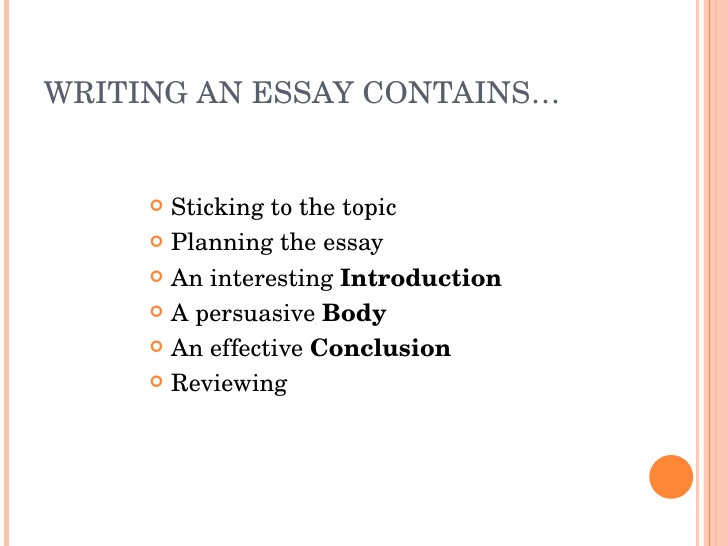 how to write a perfect essay introduction