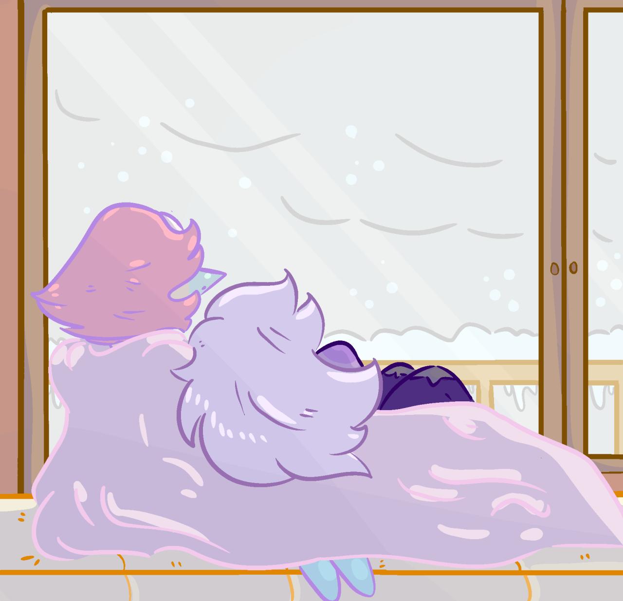 ❄️ Femslash February day 1: Snow ❄️