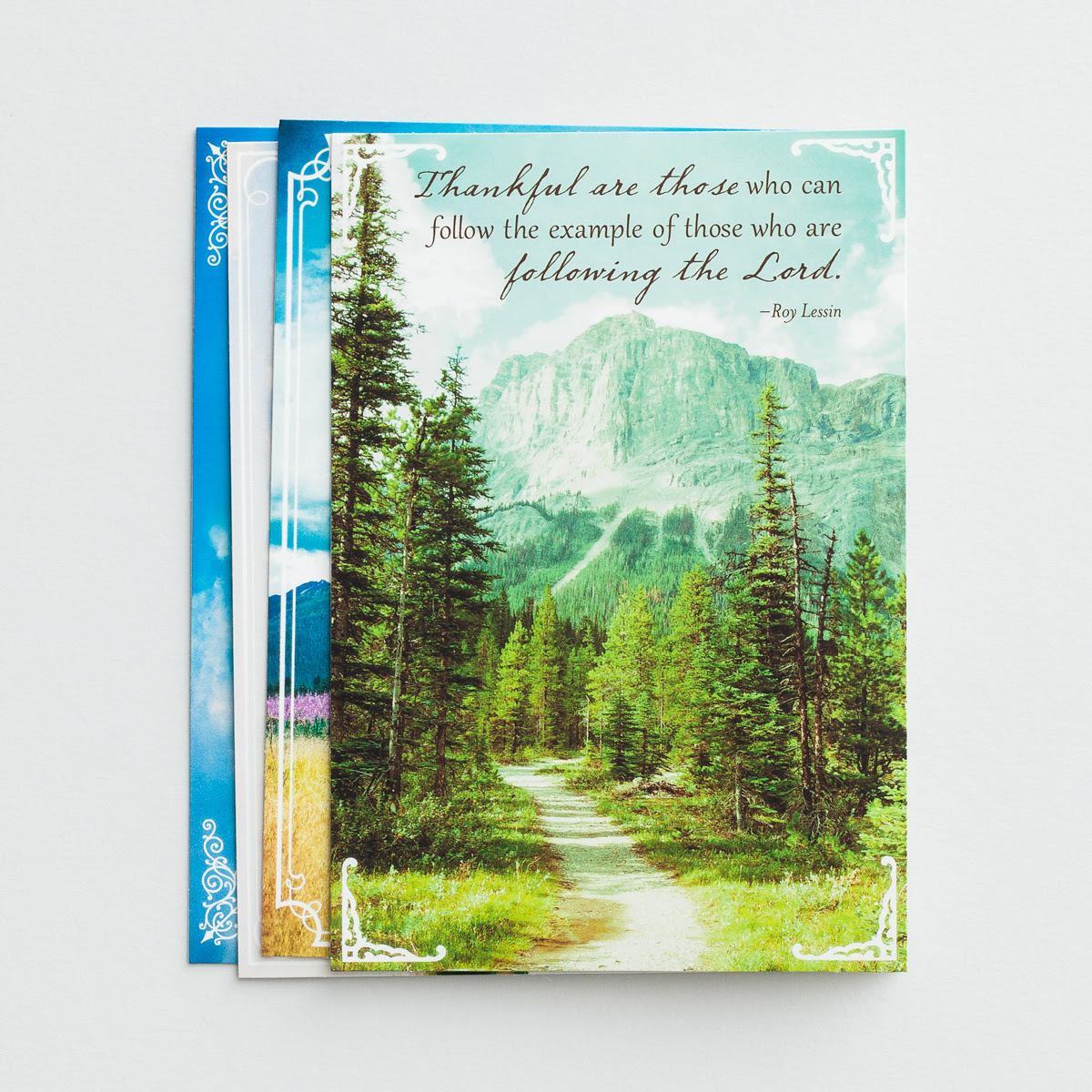 Roy Lessin - Ministry Appreciation - Meet Me in the Meadow - 12 Boxed Cards