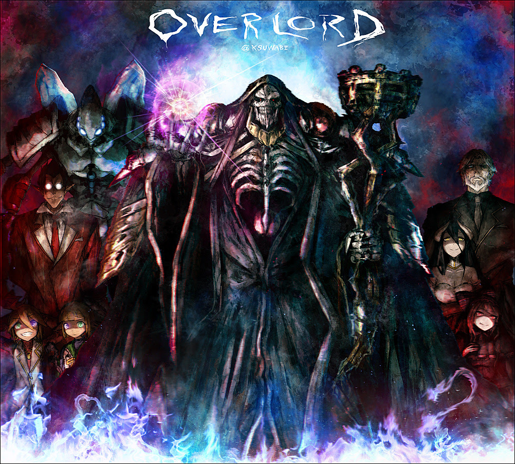 オーバーロード Overlord 海外の反応 モモンガ 強さ 比較 アインズウルゴウン アニメ 比較 原作 壁紙サイト