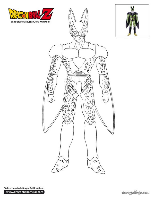 Dibujos Para Colorear Son Goku Eshellokidscom