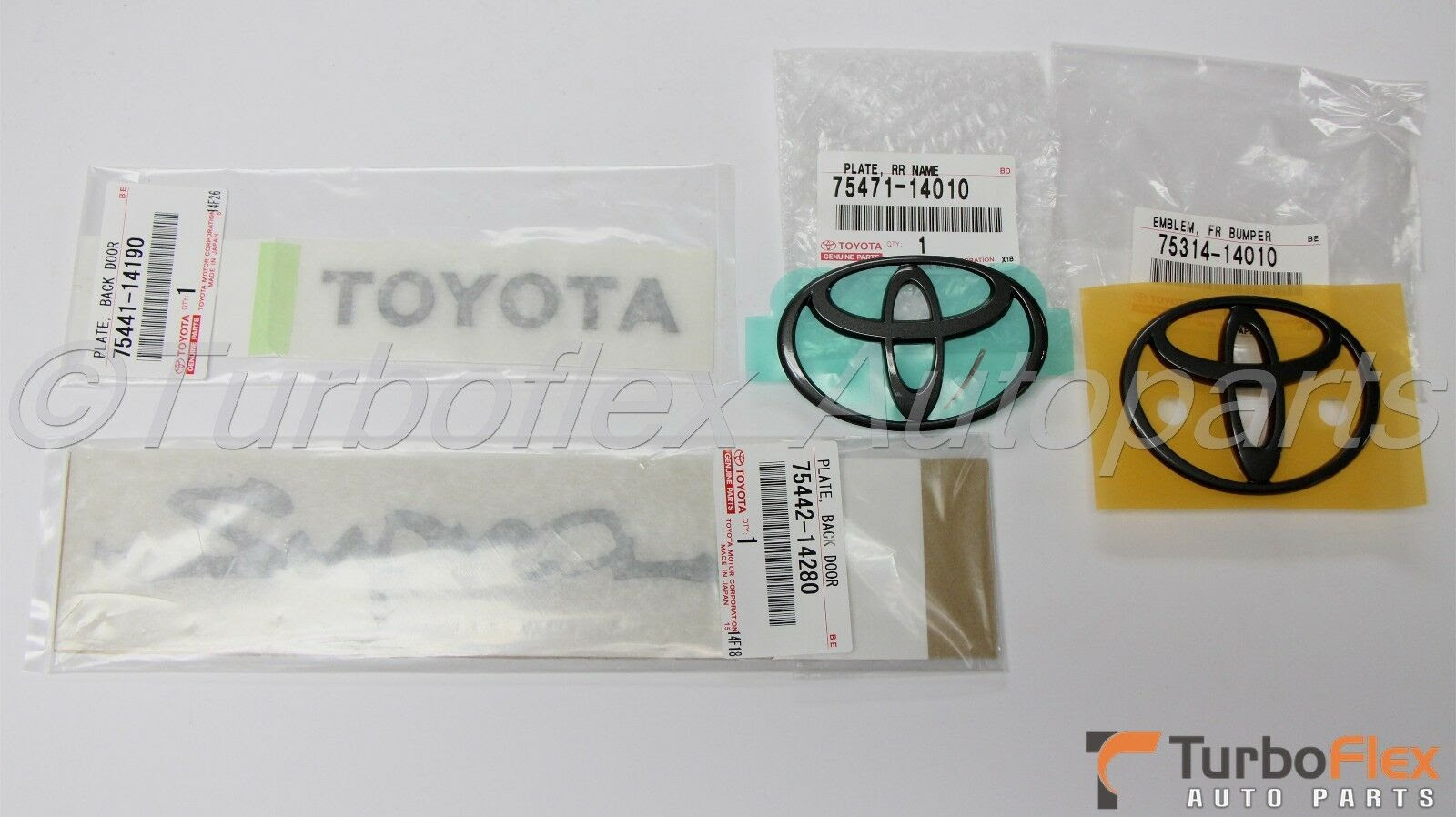 "Genuine OEM Toyota 1993-1998 /""Supra/"" JZA80 Rear Emblem 75442-14280"
