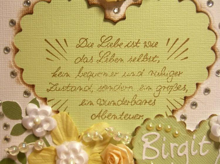 Hochzeitskarte Gratulation Hochzeitskarte Sprueche Zur