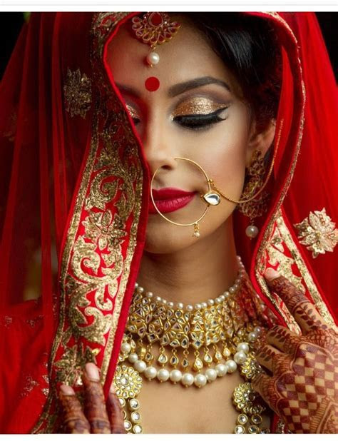 best traditional indian/bengali/pakistani bridal look in
