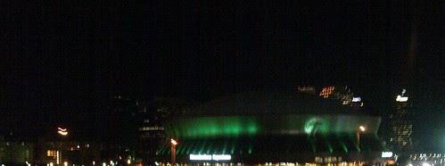 Tulane Green Wave Dome by Noladishu