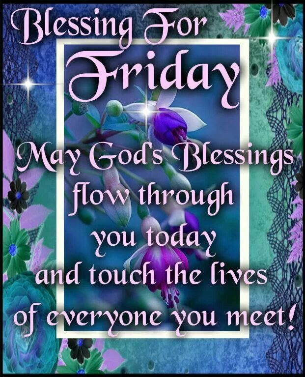 Happy Friday Blessings Traffic Club