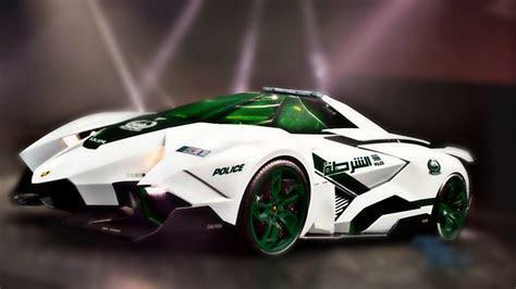 Lamborghini Egoista Dubai Police Patrol Car   YouTube