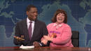 Michael Che's Stepmom Melissa McCarthy Embarrasses Him On 'Weekend Update'