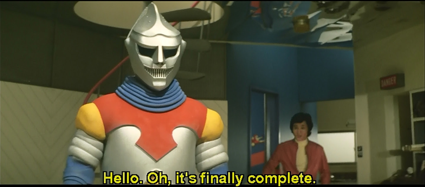 Jet Jaguar and his shit-eating grin.