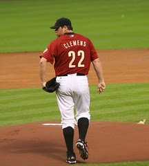 Roger Clemens #22 - Takes the Mound at Hou