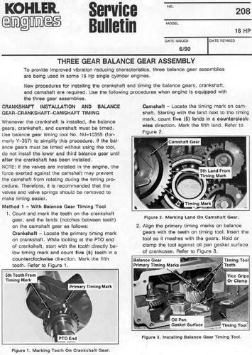 Engine Kohler Magnum M16 Balance gears PSB #208.pdf