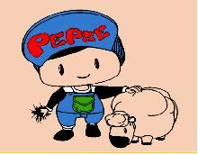 Pepee Ve Kuzusu Boyama Oyunu Oyna Pepe Oyunları