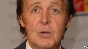 Sir Paul McCartney in London