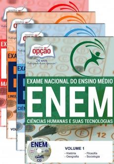 ENEM 2017-EXAME NACIONAL DE ENSINO MÉDIO - ENEM (4 Volumes)