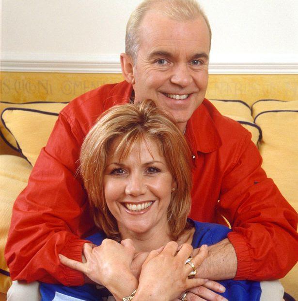 Wayne Dobson with girlfriend, Marian Gomma
