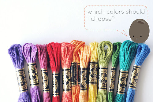 Choosing colors