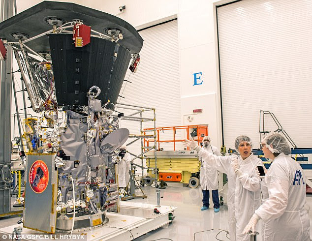 The revolutionary heat shield (top left) that will protect the spacecraft was installed for the first time on Sept 21. This is the only time the spacecraft will have its thermal protection system - which will reach temperatures of 2,500 °F (1,371°C) while at the sun - attached until launch