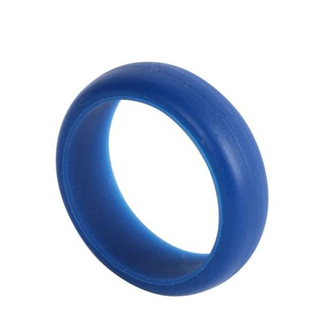 flexible unisex rubber ring silicone finger band ring