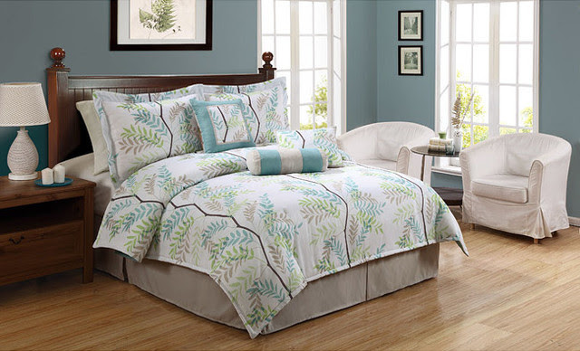 Trinity Tree Twin Comforter Set - traditional - sheet sets - - by ...