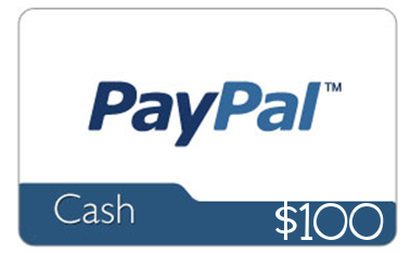 Win $100 Paypal Cash