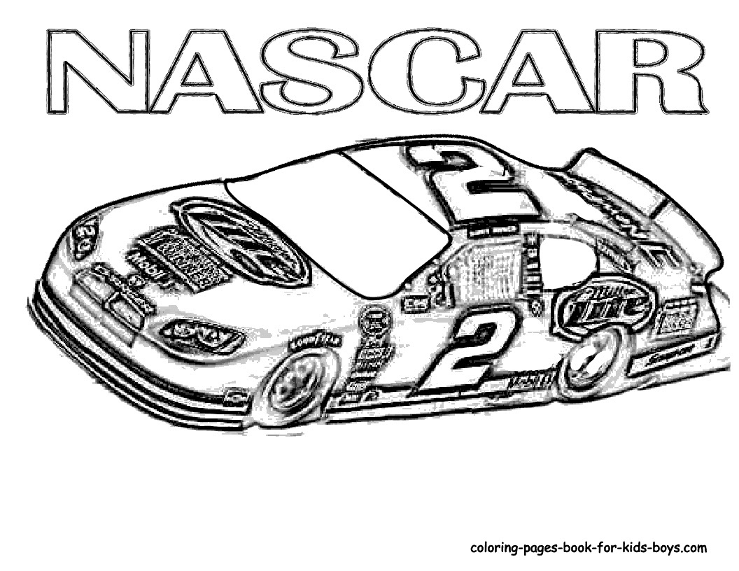Race Car Coloring Pages To Print at GetDrawings | Free ...
