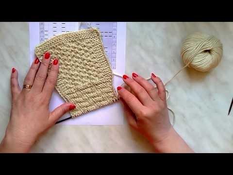 455f6eef3e33 Škola pletení a háčkování Katrincola yarn  Škola pletení Katrincola -  jednoduchý vzorek na šálu