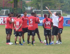Treino do Flamengo (Foto: Divulgação / Site oficial do Flamengo)