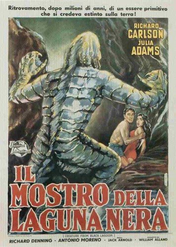 Creature from the Black Lagoon italia