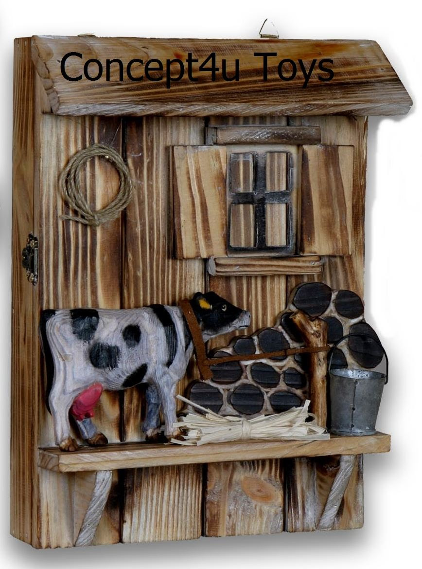 Vintage Wooden Key Holder Cabinet Box Home Decor Gift Wall Rack Hook Storage  eBay