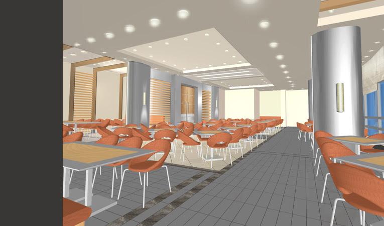 Maya Virtual Set Talkshows Studio Interior Design Light Box Studio