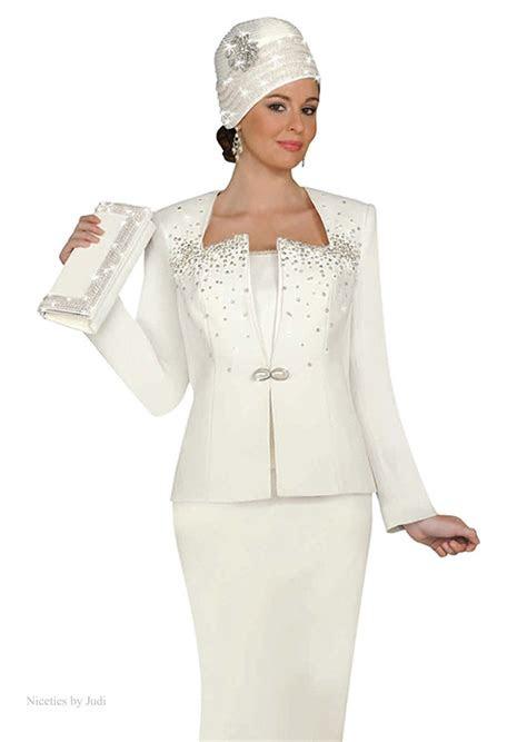 formal women evening suits ben marc   white