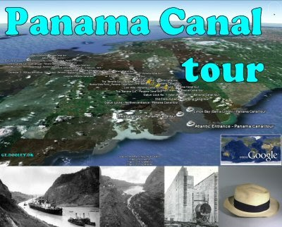 Panama canal tour google product forums the panama canal is a 48 mile 77 km canal that joins the atlantic ocean and the pacific ocean through the isthmus of panama gumiabroncs Choice Image