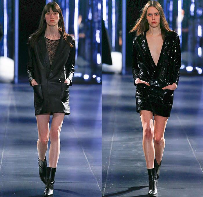 Dress with x bodycon laurent blazer saint