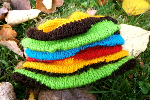 Funky Knitted Toddler Hat