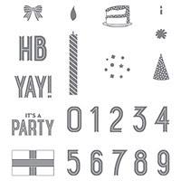 Birthday Yay Photopolymer Stamp Set